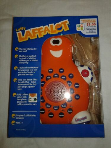 New Laffy Laffalot 20 Different Laughing Toy