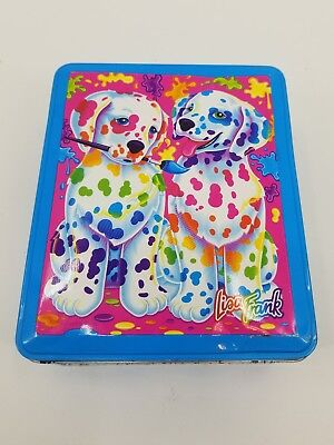 Vintage The Fantastic World of Lisa Frank Spotty And Dotty Collectible Tin