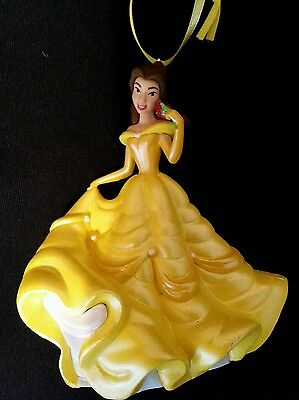 Disney Beauty and the Beast Belle in Yellow Gown Christmas Ornament
