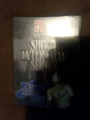 RF VIDEO SHOOT INTERVIEW SERIES JEFF HARDY DVD SEALED