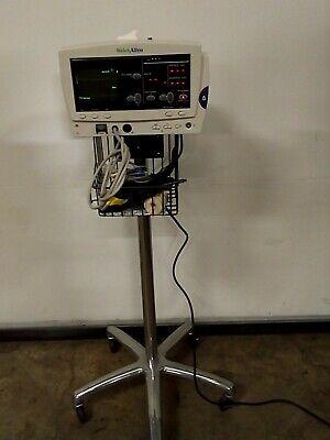 Welch Allyn 6200 Series Bp Spo2 Ecg Patient Monitor W Cart