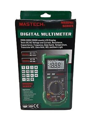 Original Mastech Ms8261 Digital Multimeter Current Resistance Capacitance Test 7