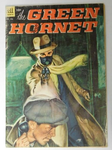 The GREEN HORNET - Four Color #496 - Dell 1953 G- Vintage Comic