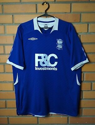 Birmingham City (Blues) 2008-2009 Football Shirt Home s. XL Jersey Soccer Umbro image