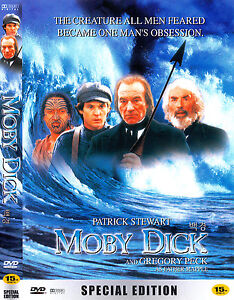 Moby Dick (1998) New Sealed DVD Gregory Peck, Patrick Stewart