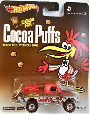 HOT WHEELS 2013 POP CULTURE COCOA PUFFS TEXAS DRIVE 'EM