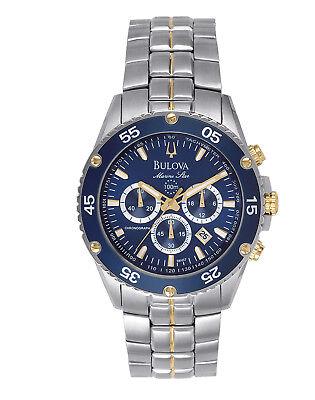 Bulova Marine Star Men's 98H37 Quartz Chronograph Two-Tone Bracelet 40mm Watch