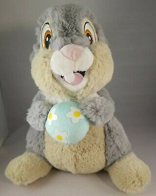 Hallmark Disney Thumper Bunny Rabbit Holding Egg Bambi Soft Plush 11""