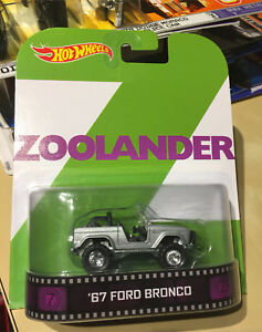 Hot Wheels - Retro  - ZOOLANDER - '67 Ford Bronco -$5
