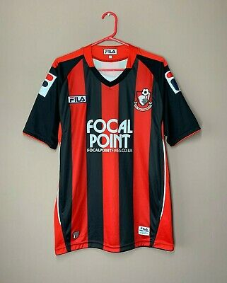 AFC Bournemouth 2011-2012 Home Football Shirt Fila Soccer Jersey Camiseta size S image