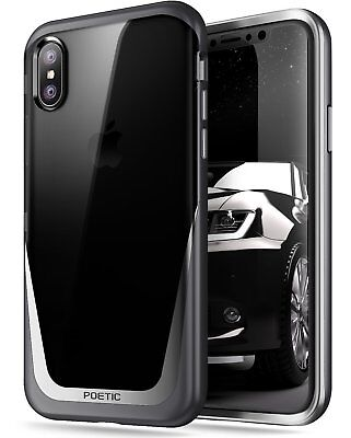 Lyrical Lucent【Metallic Coating】Set in order Cross Bumper Crate For Apple iPhone X Abominable