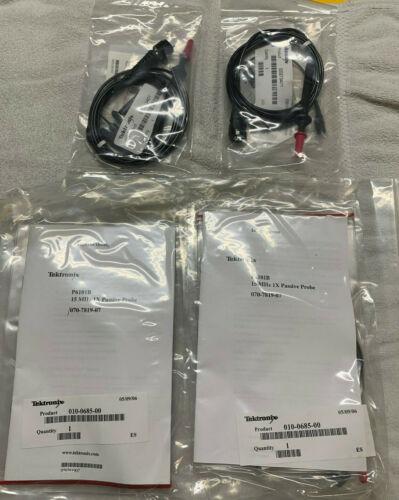 TEKTRONIX TEK NEW Probe lot of 4 - 2x P3010 PROBE and 2x P6101B probes - NOS