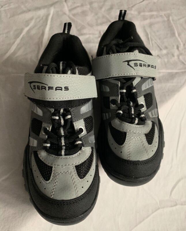 Serfas biking shoes grey and black size 37