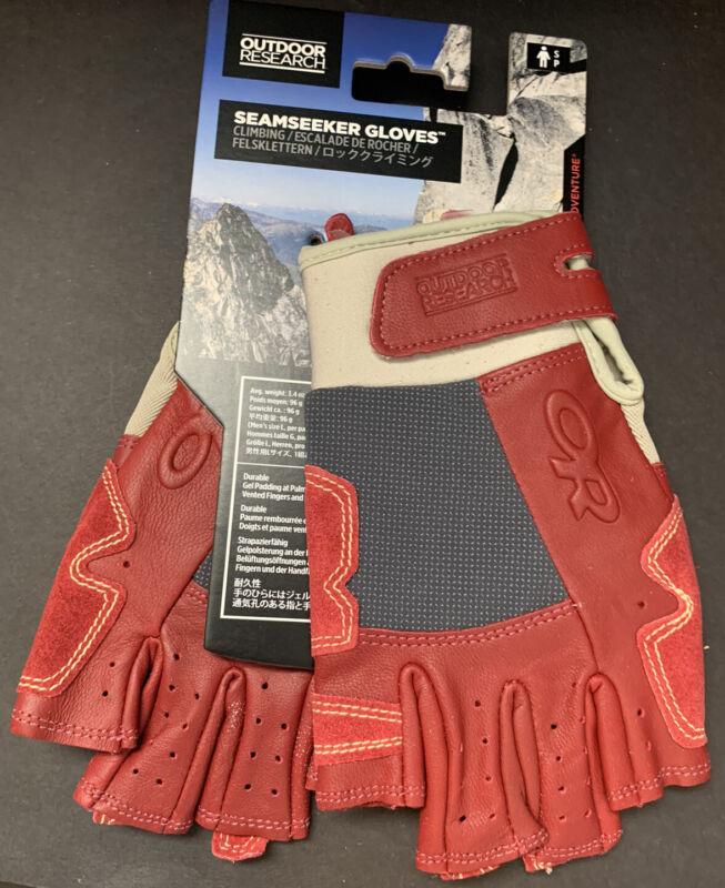 New Men's Small - Outdoor Research - Seemseeker - Rock Climbing Gloves