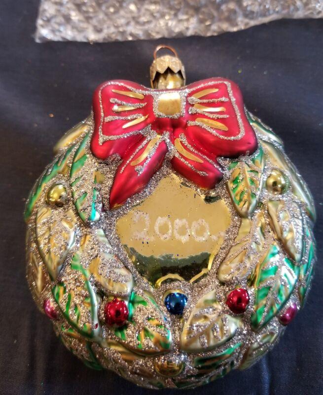 Poland Wreath Ornament 1999 2000
