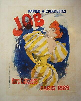 Les Maitres de l'Affiche Masters of the Poster Plakat Pl 1 JOB Chaix Cheret 1889