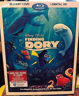 Finding Dory (2-Disc Blu-ray, and DVD) free shipping