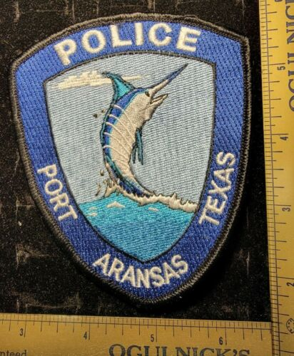 Port Aransas Texas TX Police Department Officer Patch