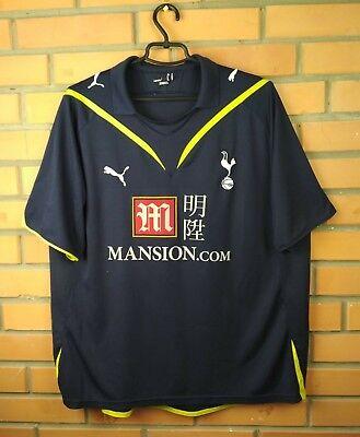 09d607f5 Tottenham Hotspur jersey XL 2009 2010 away shirt soccer football Puma