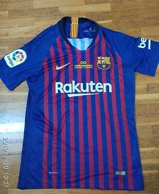 Camiseta jersey shirt maillot maglia trikot NIKE BARCELONA MATCH ISSUE L fa858d7df9c15