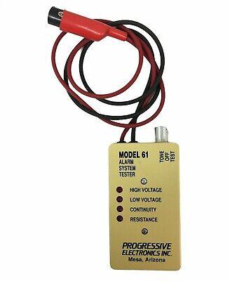 Progressive Electronics Model 61 Alarm System Tester Used Good Clean
