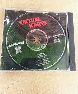 Virtual Karts Cd K A Disk And Case  No Artwork Or Booklet  Great Condition