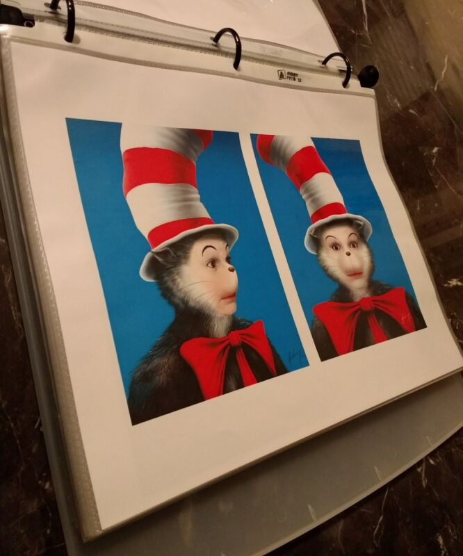 Cat In The Hat (2003) Movie Concept Art Collection Lot Set Mike Myers Dr Seuss