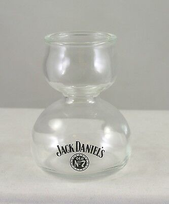 Jack Daniels Old No 7 Double Bubble Shot Glass / Chaser Jigger Flared Top ()