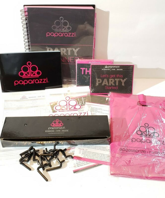 Paparazzi Party Planner Consultant Kit, Brand New!