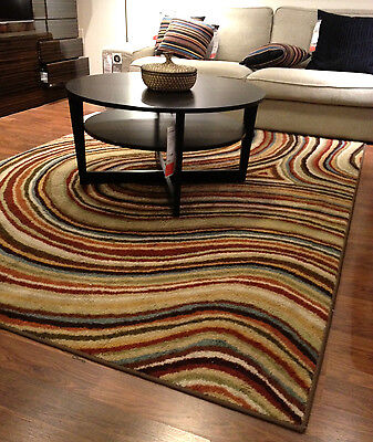 Low Pile Area Rug Home Decor