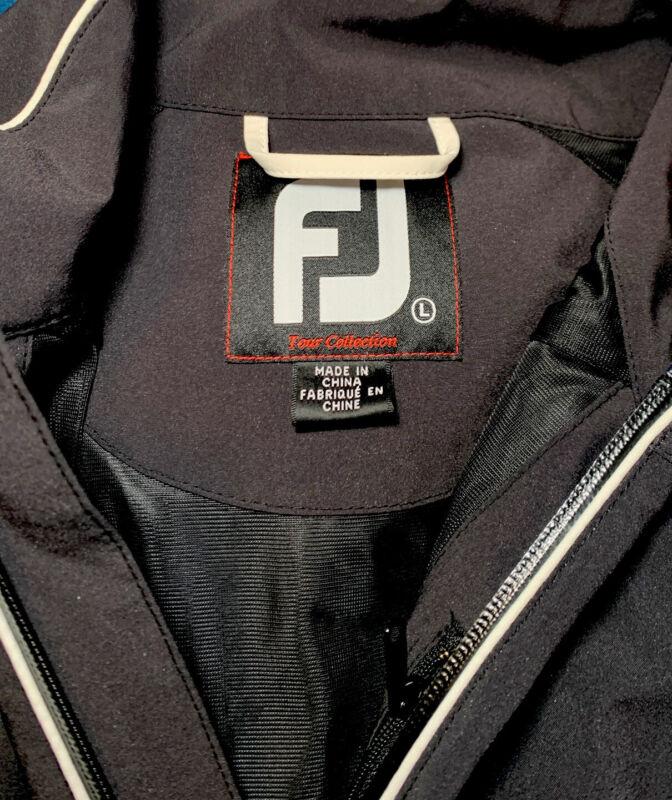 Footjoy FJ Dryjoy Mens Short Sleeve Rain Pullover Golf Shirt Jacket Size Large v