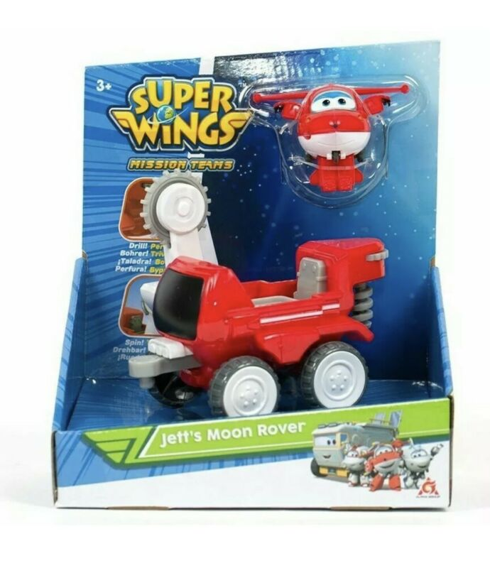 Super+Wings+Mission+Teams+Jett%27s+Moon+Rover+Plane+Figure+%26+Vehicle+Playset+