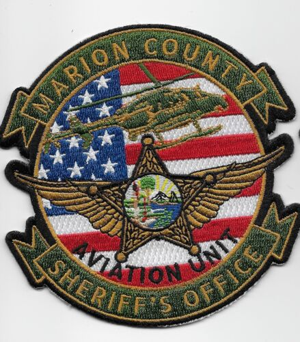 Aviation Full Color Marion County Sheriff State Florida FL