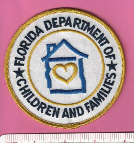 Fl Fla Florida State Dept. of Children & Families Security Police Shoulder Patch