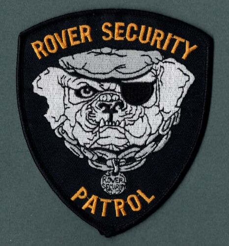 Rover Security Michigan Patch