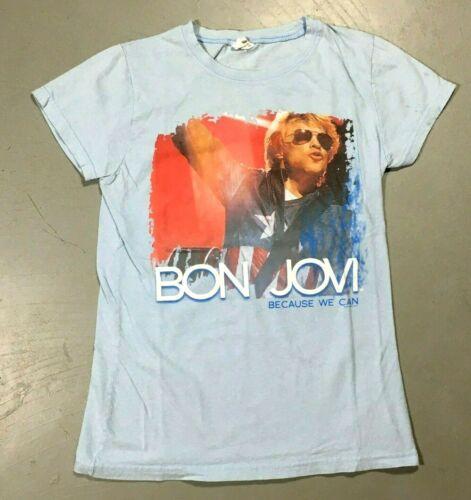 2013 Bon Jovi Because We Can Tour 2 Sided Girl