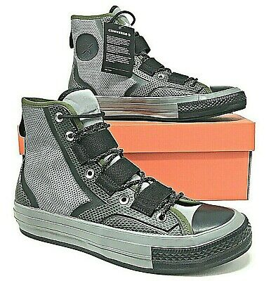 Converse Chuck Taylor 70 Tech Hiker Hi Mens Casual Sneakers Mason/Herbal 162358C Converse Mens Hiker