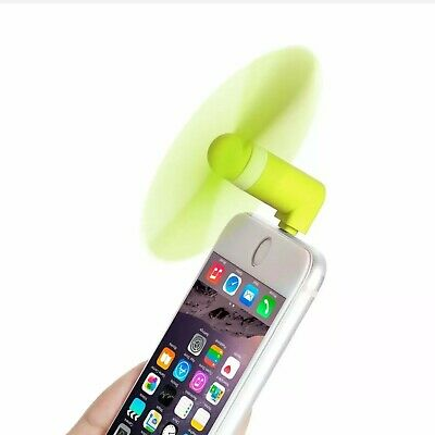 Lightning Electric iPhone Fan Mini For Apple iPhone 6S 7 Lightning Portable Fan