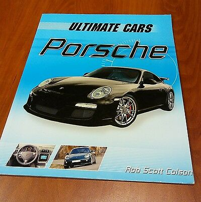 2 Car Books In 1 Ultimate Cars Ferrari / Porsche by Rob Scott Colson