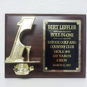 Hole-in-One-Golf-Plaque-Custom-Engraved-SUPER-FAST-SHIP