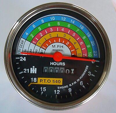 Tachometer For Ih International Farmall 560 660 Tractor Meter Gauge 383093r91