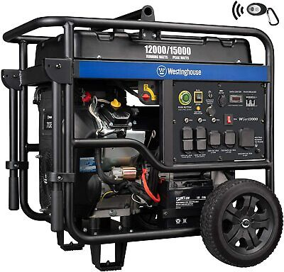Westinghouse 15000-w Portable Rv Ready Gas Powered Generator With Remote Start