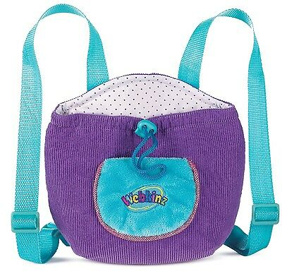 Webkinz Purple Plush Pet Carrier Backpack by Ganz