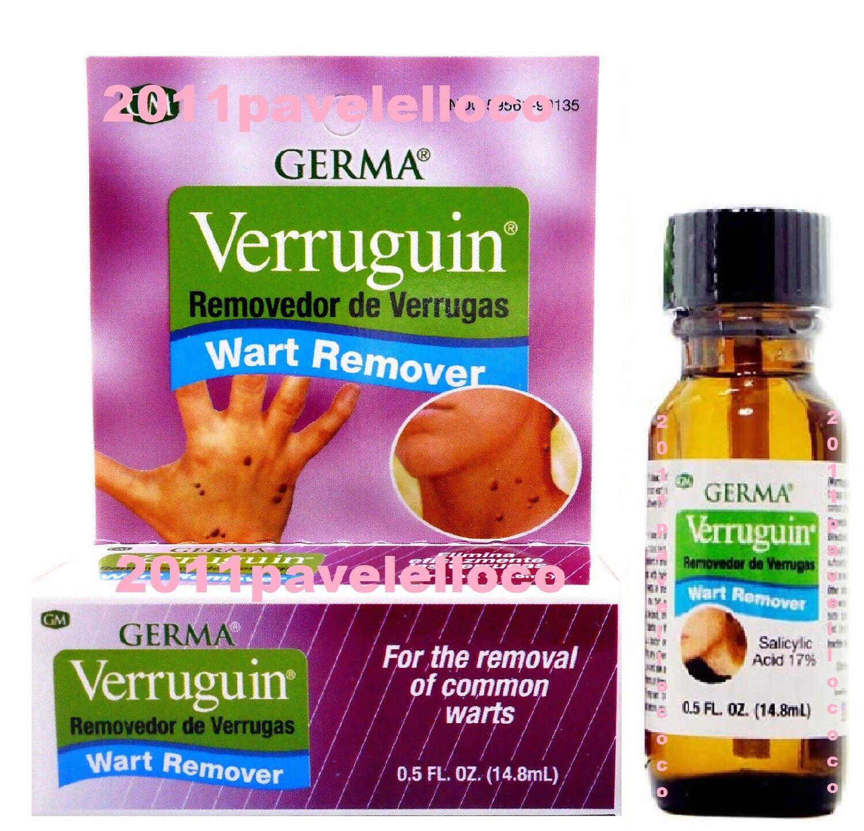 Germa  Wart Remover  Verruguin Salicylic Acid 17% Removedor