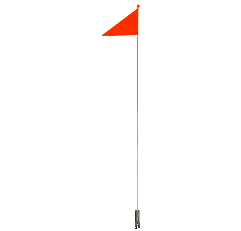 Wimpelstange Fahrrad Wimpel neon orange 113 cm Sicherheitswimpel Kinder Fahne