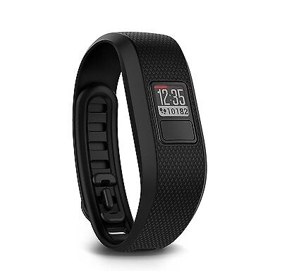 Garmin Vivofit 3 Activity Tracker Fitness Band (Regular) - Black - 010-N1608-00