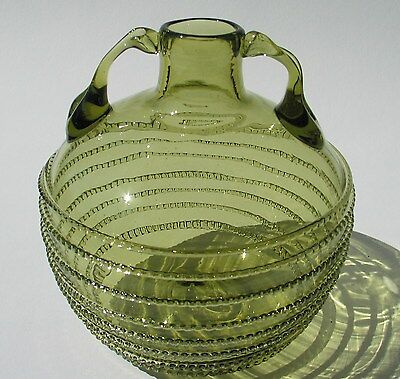 Waldglas Böhmen   schöne Handarbeit Glas Replika
