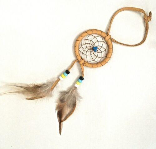 Native American Dream Catcher Leather Authentic