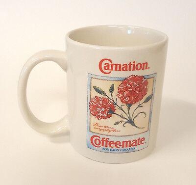 1993 Carnation Coffee-mate Nondairy Creamer Collector's Botanical Coffee Mug B77 Carnation Coffee Mate Coffee Creamer