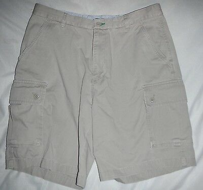 NWT $60 Dockers Big Men/'s Size 48 Forest Green Stretch Cotton Cargo Shorts Wshbl